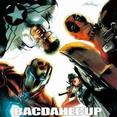 'Civil War II' TEAMIRONMAN Hip Hop Variants