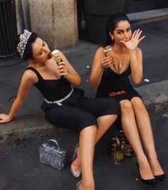 Jumpsuit: tumblr cropped black black dress dress pointed toe pumps pumps black pumps high heel pumps