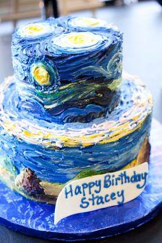 A van Gogh cake!