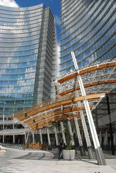 Unicredit tower canopies