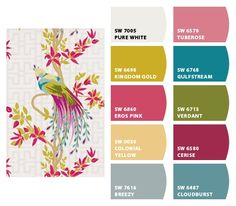 Ideas for K's room - Paint colors from Chip It! by Sherwin-Williams