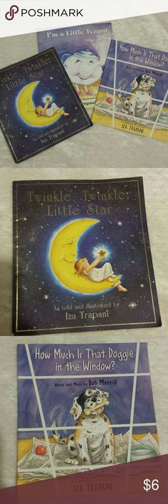 Children's Book Set Three paperback books for $6! All by Iza Trapani. In good condition. Other