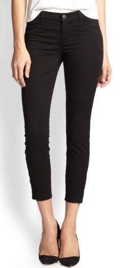 black cigarette pants