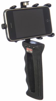 A steady handgrip for iPhone movie making