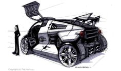Concept cars and trucks: Concept vehicle design by Turi Cacciatore