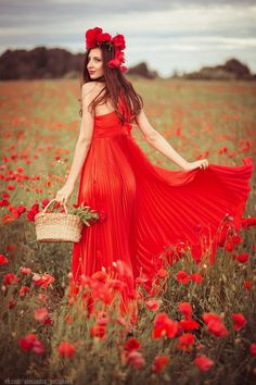 Poppy field by alexandra petrakova on 500px