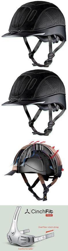 Hats and Headwear 158918: Medium Troxel Sierra Black The Best Selling Western Riding Helmet -> BUY IT NOW ONLY: $109.95 on eBay!