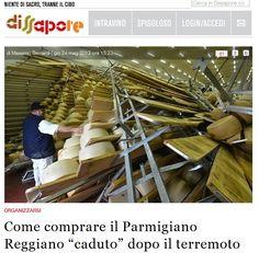 Appello per comprare il parmigiano dei caseifici colpiti dal terremoto