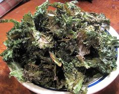 Until The Thin Lady Sings: Kale Chips
