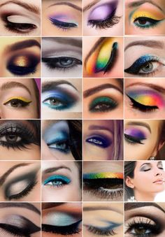 styles eye shadow