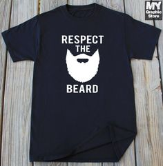 Gift For Dad Beard Shirt For husband Grandpa by MyGraphicStoreCo