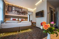 Unser Doppelzimmer Superior Plus bietet viel Raum für ein perfektes Wochenende im Harz.