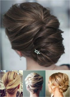 modern french roll updos