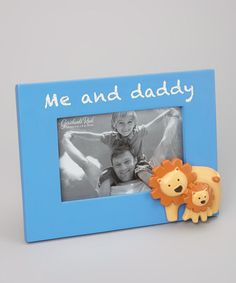Take a look at this Blue 'Me and Daddy' Frame by Grasslands Road on #zulily today!