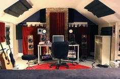 how to set up a home studio audio
