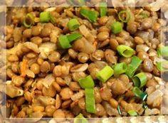 Гарнир из чечевицы Рецепты Корма Для Собак, Хорошая Еда, Бобы, Овощи, Кулинария