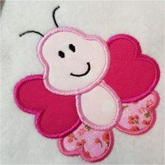 Free Embroidery Design: Applique Bug