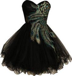 Peacock dress for Rae