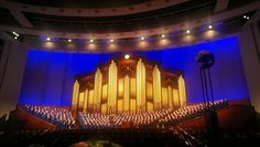"""Did you know? There's a 1 in 3 chance you'll hear """"Redeemer of Israel"""" this weekend if conference hymn trends hold true! Check out what else we learned from looking at the recent history of music in general conference."""