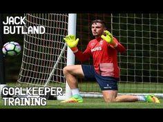 Jack Butland   Goalkeeper Training ! FutbolPorteroDeportesEntrenamientoVerdadesEjercicios  De ... f3710c298735c