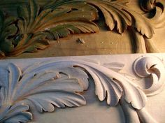 Flickr Search: acanthus wood carving