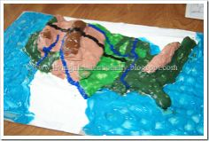 Kids will have Geography Fun with a Salt Dough Map. Use this simple project to map any place on earth. Great for kids of all ages. Hands On Geography, Geography Games, Geography Map, Map Projects, Science Projects, School Projects, School Ideas, Social Studies Activities, Hands On Activities