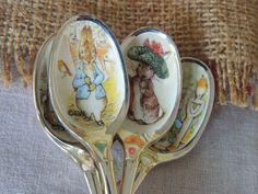 Cucharas de Peter Rabbit..... Peter Rabbit Spoons