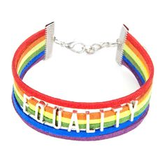Equality Charm Bracelet
