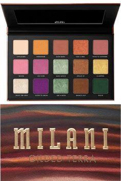 Milani Cosmetics, Makeup News, Eyeshadow Palette, Make Up