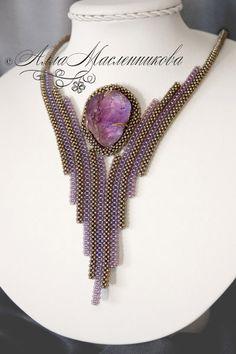 Alla Maslennikova, bead artist - Jewellery