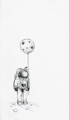 Astro black and cosmo dark astronaut drawing, astronaut illustration, astronaut tattoo, space illustration Moon Drawing, Painting & Drawing, Sketch Drawing, Inspiration Art, Art Inspo, Sketchbook Inspiration, Art Sketches, Art Drawings, Tumblr Sketches