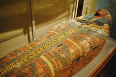 The Coffin of Khenankhkonsu, 22nd Dynasty of Egypt (945-712 B.C.E.), discovered at Thebes.