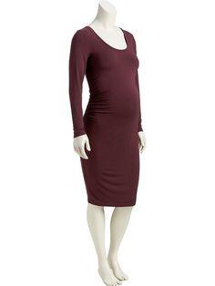 Maternity Jersey Midi Dress