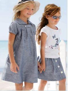 Vestidos Casuales de Niña. En este blog deVestidos Casuales de Niña les presentamos algunos modelos muy modernos y elegantes vestidos. Estos vestido son realmente hermoso y muy sofi