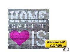 'Out of the Blue 810252Cartel de madera con... #cuadro