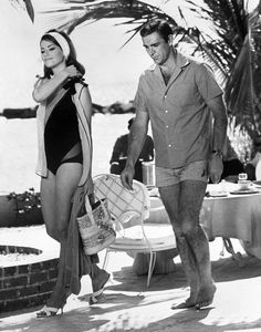 All The James Bonds, Sean Connery James Bond, Claudine Auger, James Bond Movies, Bond Girls, National Photography, Thing 1, On Set, Behind The Scenes
