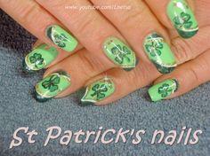 St Patrick nails by Lnetsa - Nail Art Gallery nailartgallery.nailsmag.com by Nails Magazine www.nailsmag.com #nailart