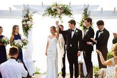 OceanCliff Newport wedding ceremony.