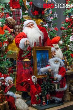 Διακοσμητικός Άη Βασίλης Christmas Wreaths, Holiday Decor, Painting, Home Decor, Christmas Swags, Decoration Home, Holiday Burlap Wreath, Painting Art, Paintings