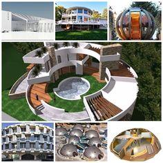 REVISTA DIGITAL APUNTES DE ARQUITECTURA: Casas curvas y circulares