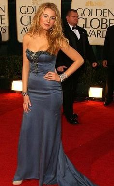 Blake Lively: Long Dress