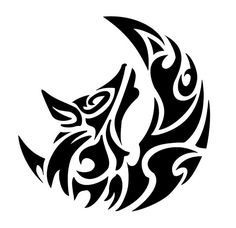 werewolf tattoo symbol photo - 2