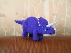 Ravelry: Dinosaur - Triceratops pattern by Philip Skipper