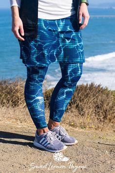 Shop the look sweetlemonthyme.com  modest  blueskirt  leggings  skirt   hiking  fitness 62299910129