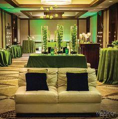 Chic and green wedding decor  ~ Photo: Monkey Tree Photography