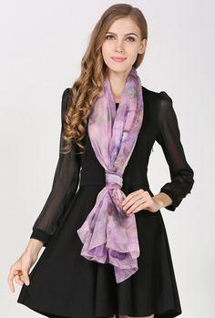 Elegantná hodvábna dámska šatka - 180 x 110 cm - vzor 11 Victorian, Outfit, Dresses, Fashion, Outfits, Vestidos, Moda, Fashion Styles, Dress