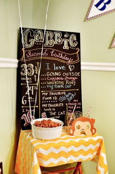 Curious George Birthday Party Ideas | Photo 2 of 43 | Catch My Party