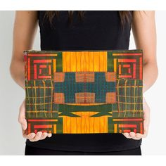 Off to College Supplies,Zipper Art Pouch,Large Artist Pouch,Studio Pouch,Zipper Pouch,Gifts for Artists,Tribal Studio Pouch,Vicki Bolen