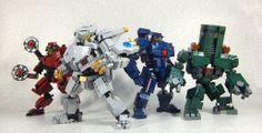 Lego Pacific Rim Jaegers.