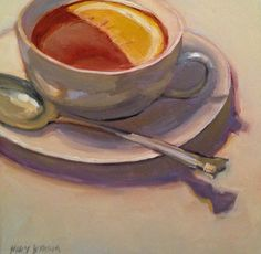 Tea in the Afternoon | MARY BYROM MAINE PAINTINGS